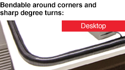 Bendable around Corners andsharp degree turns: